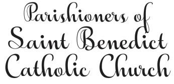 Parishioners of Saint Benedict