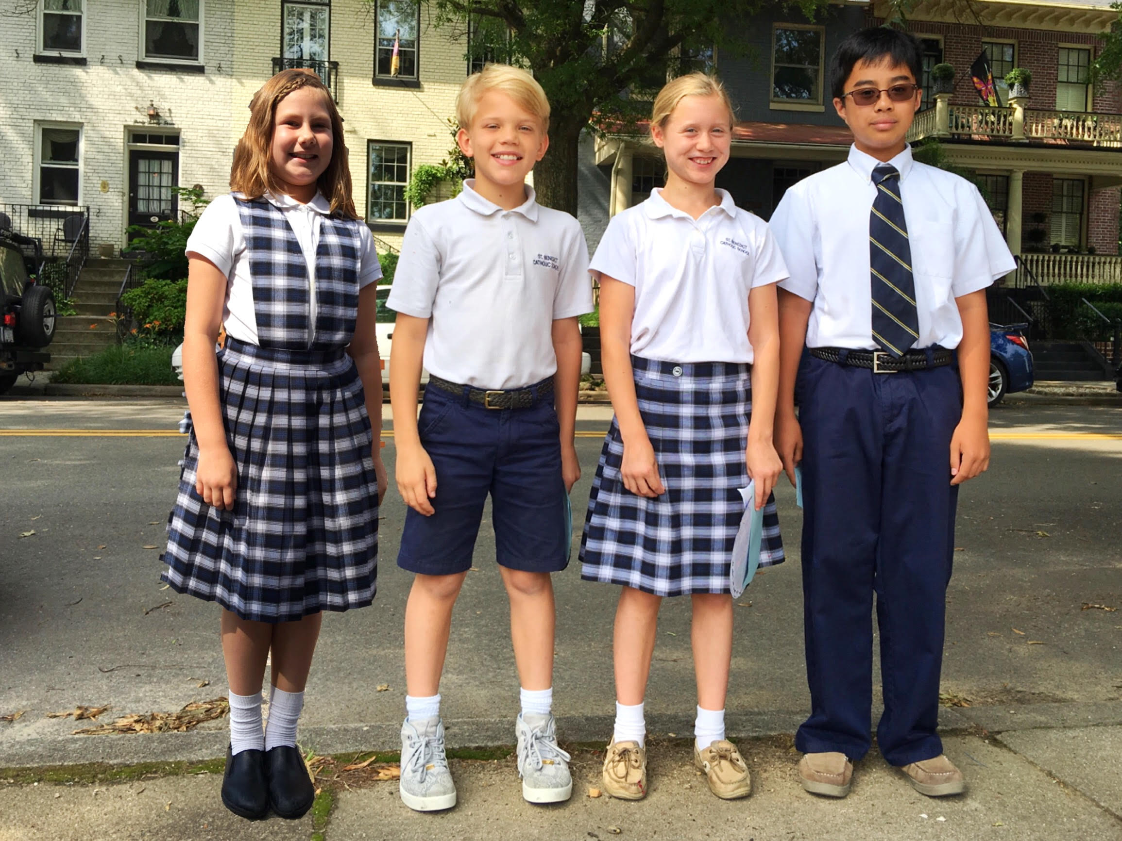 Uniforms - St  Benedict Catholic School